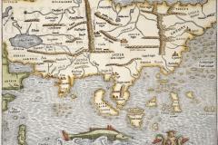 Table de la region orientale comprenant les dernieres terres & royaumes d'Asie