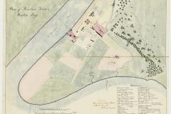 Map of Brisbane Town, Moreton Bay 1839